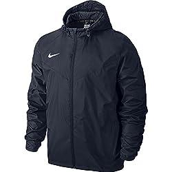 Nike Team Sideline Rain Jacket Chaqueta Impermeable, Hombre, Azul (Navy), XL