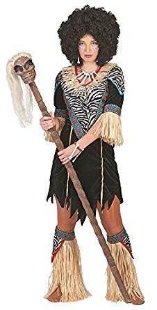 faschingskostueme dschungel Pierro´s Kostüm Afrikanerin Kimani Damenkostüm Größe 40-42