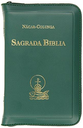 Sagrada Biblia bolsillo (9 x 13 cm.) Cremallera (EDICIONES BÍBLICAS)