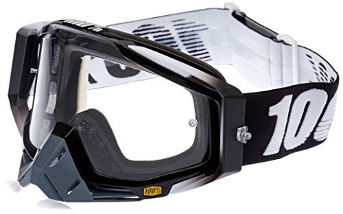 100% The Racecraft Goggle abyss black/anti fog clear 2016 Goggles