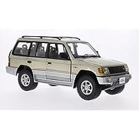 Mitsubishi Montero Largo 3.5 V6, metálico-beige, 1998, Modelo de Auto, modello completo, sol estrella 1:18
