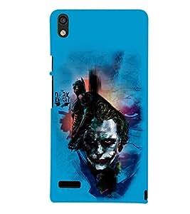 printtech Joker Back Case Cover for Huawei Google Nexus 6P