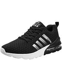 Zapatillas de Deportes para Hombre - Respirable Deportivos Al Aire Libre Zapatillas Hombres Moda Sneakers Antideslizantes Zapatos para Escalada Running