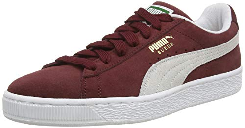 Puma - Suede Classic+ - Baskets mode - Mixte Adulte - Rouge...