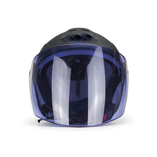 WNLBLB Casco Moto Casco Elettrico Casco Estivo Freddo Net Casco Unisex Mezzo Casco Elettrico
