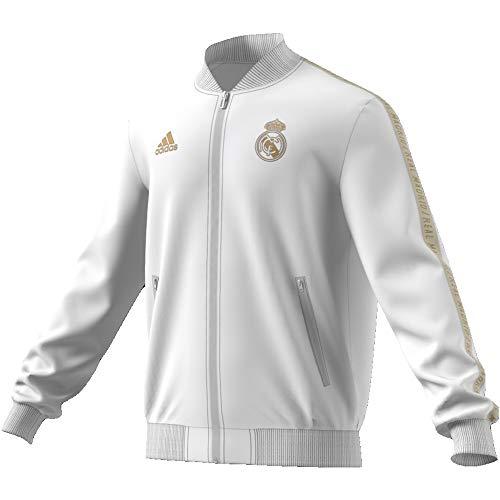 adidas Performance Real Madrid Anthem Jacke Herren weiß/Gold, S