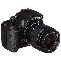 Canon EOS 4000D DSLR Camera EF-S 18-55 mm f/3.5-5.6 III أسود نموذج العدسات الدولية
