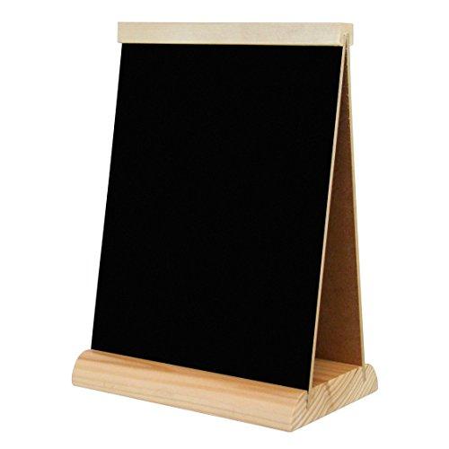 Tischaufsteller Werbetafel Preisschild Kreidetafel Karte Kreide Tafel Holz TS2B A5