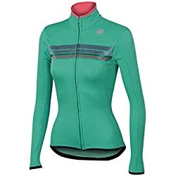 Sportful Allure Thermal Turkoois Maillot Dames 2017