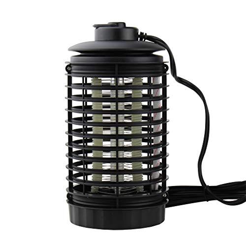 YUHUISTART Moskito Falle Mörder Lampe Elektronischer Insektenvernichter Insektenmoskito Wasserdichte Insektenfalle Abweisend Anti-Moskito für Innen und Außen