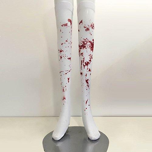 Wanglele Maskerade Kostüm Halloween Halloween Bloody Bloody Krankenschwester Socken Zehn Paare Von Zombies, Blutfleck (Männliche Ballerina Halloween Kostüm)