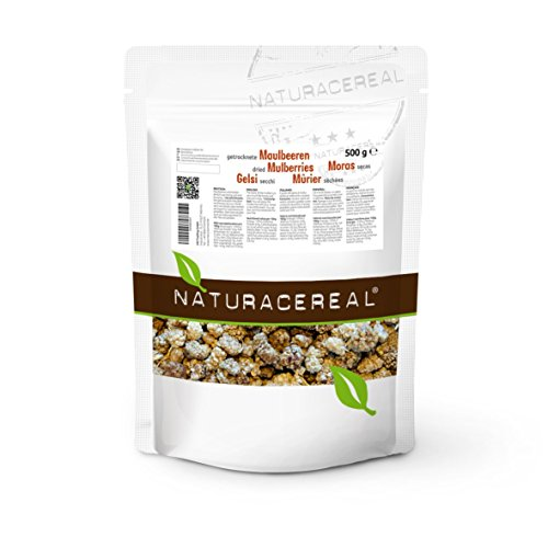 Gelsi Bianchi 500g (1 x 0,5 kg ) di NATURACEREAL - Dried mulberries