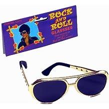 Elvis Sunglasses. Gold