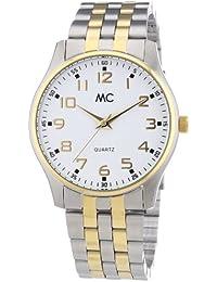 MC Timetrend Herren-Armbanduhr Analog Quarz Edelstahl 27356