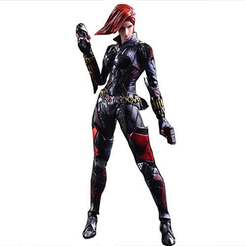 gur | Anime Hand Model | Marvel Heroes | Avengers 2 | Black Widows Voll Beweglich,Black-26cm ()