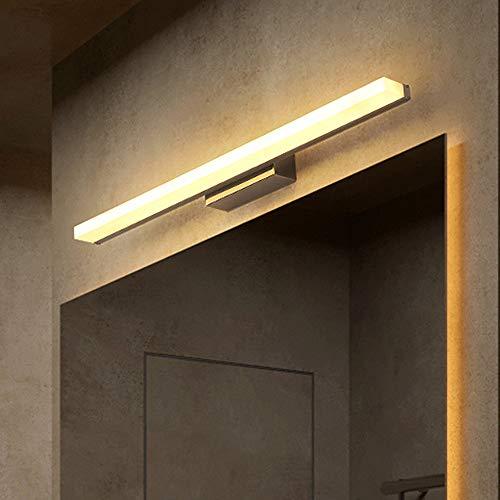9W LED Espejo Luz Delantera - Resistente Agua Baño Lámpara Acrílico Pantalla Maquillaje Vanity Luces...