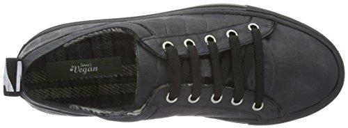 Jonny´s Vegan Damen Hanne Sneakers Schwarz (Negro)