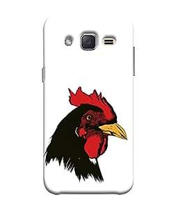 Snapdilla Designer Back Case Cover for Samsung Galaxy J2 J200G (2015) :: Samsung Galaxy J2 Duos (2015) :: Samsung Galaxy J2 J200F J200Y J200H J200Gu (Texture Illustration Theme Brown Red Backcase Pouch )