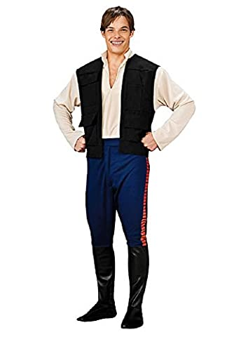 Han Costumes Solo Adulte - Rubies Costume Co 33120 Star Wars Deluxe