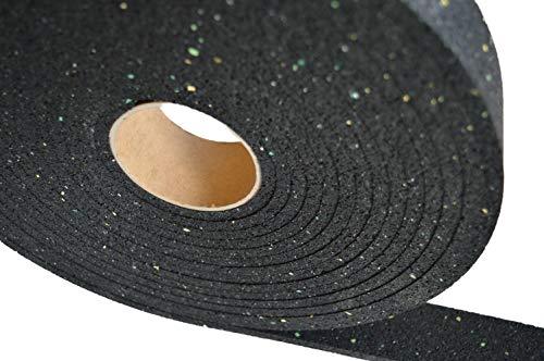 10000x100x10 mm Gummigranulat Rolle Terrassenpads Terrassenpad Gummigranulat Rolle Gummistreifen
