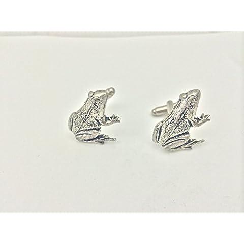 Rana gemelli in peltro inglese refa14con un marchio prideindetails Logo