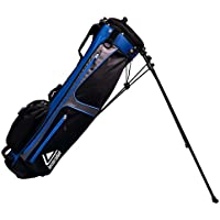 Longridge Weekend - Bolsa para palos de golf con caballete (90 x 15 cm), color azul (navy silver) - 6""