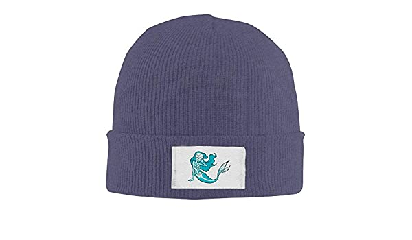 Beanie Hat Mermaid Warm Skull Caps for Men and Women
