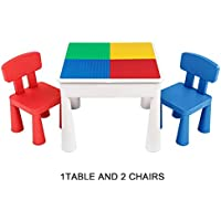 SEIGNEER Mesa infanti Mesa de Juego Mesa de Bloques mobiliario Infantil Juego de Mesa
