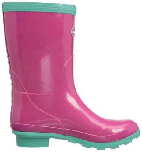 Havaianas Helios Mid Rain Boots, Bottes de pluie Femme Rose (Super Pink/Light Green)