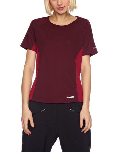 Berghaus Relaxed Maillot de corps à manches courtes pour femme rouge - Figure/rouge