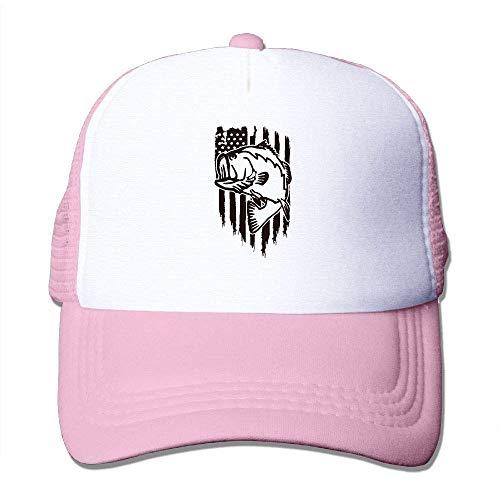 Voxpkrs Angeln Amerikanische Flagge Männer Frauen Verstellbare Baseballmützen Sport Tag Hut Waschen Flache Kappe Q8S3S513