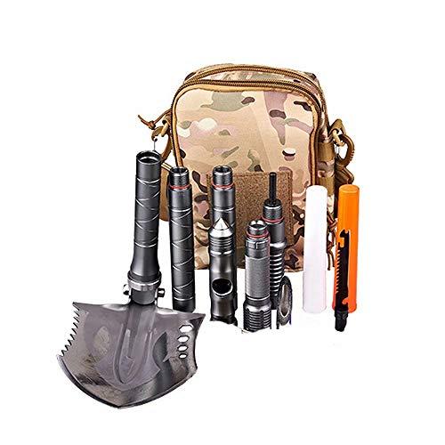GG-shovel Faltschaufel und Pickax Military Mini Portable mit Tragetasche Indoor und Outdoor Survival Multi Tool Tactical Spade Gardening