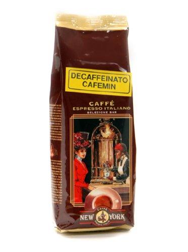 2 x Caffe New York Espresso entkoffeiniert Bohnen, Beutel mit 250 g