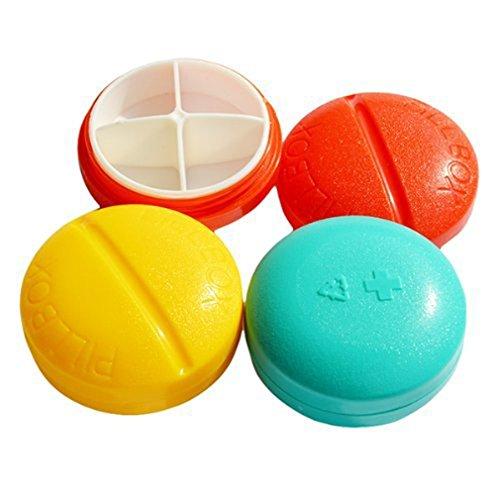 ruichy Colorful Kunststoff 21Fächer 7Tage Medizin Pille Aufbewahrungsbox Style-5