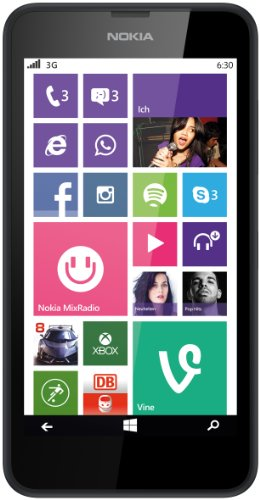 Nokia Nokia Lumia 630 Single-SIM Smartphone (4,5 Zoll (11,4 cm) Touch-Display, 8 GB Speicher, Windows 8.1)