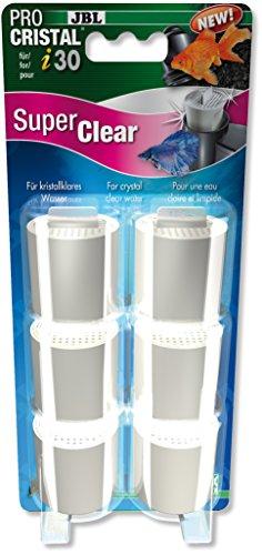 JBL Super Clear Set 6Wasserfilter Kartuschen für ProCristal i30Für Aquarien