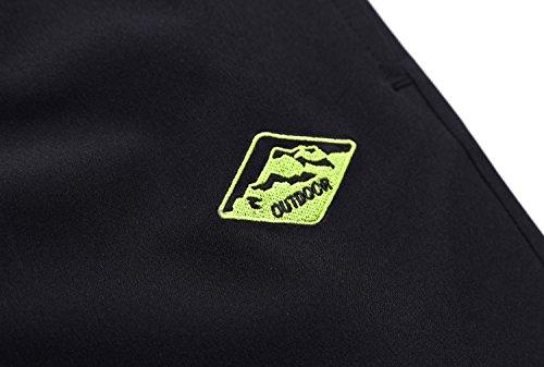 Promstar-AFS Jeep Herren Badeshorts Beachshorts Acht Farben Sommer Elastischer Haltegurt shorts Grau
