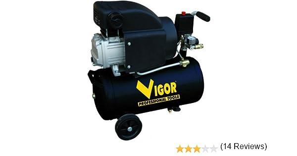 Vigor VCA-8L Compresseur /à entra/înement direct monocylindre 220/V 2/CV 24/l