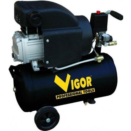 Vigor Vca-24L - Compresores, 220 V, 1 Cilindro, De Accionamiento Direc