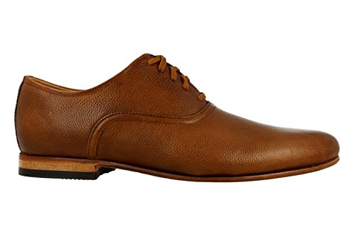 CLARKS Chaussures 26130923 Formulaire Tan Lace Bro Marron