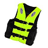 #4: Phenovo Life Jacket Vest Survival Suit for Swimming Drifting L fluorescein yellow