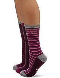 Womens Lshpe676 Socks, Blue (Aqua), One Size (Manufacturer Size: 4 to 8) pack of 3 Original Penguin