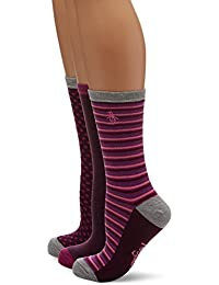 Original Penguin Women's Lshpe274 Socks, Pink, One Size (Manufacturer Size: 4 to 8) pack of 3