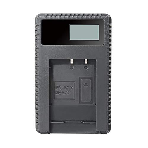 Preisvergleich Produktbild NP-BX1 LCD Display Akkuladegerät Integrierter USB-Kabel-Kamera-Akku-Ladegerät Ersatzlade