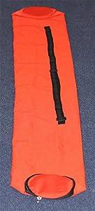agility sport pour chiens - sac pour jalons et pour piquets de slalom, couleur: rouge