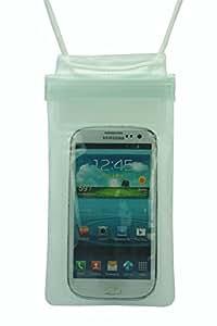 Pochette Etui Housse Sac Étanche pour Smartphone Téléphone Portable couleur: blanc - THS5Star