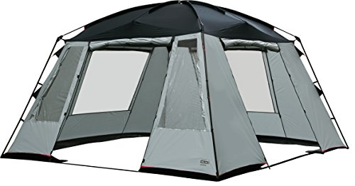 High Peak Siesta - Pabellón para Acampada, Color Gris Claro/Gris Oscuro, 14051