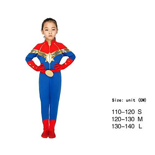 �dchen, Halloween Kostüm Cosplay Outfit Motto-Geburtstagsfeier, Cosplay Kostüme Kinder 3D-Stil ()