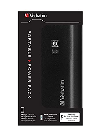 Verbatim 49950 Batterie de secours 2600 mAh