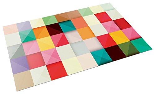 Printodecor - Alfombra Vinílica Diseño Lloyd, PVC, Retro Lloyd, 143 x 97 cm